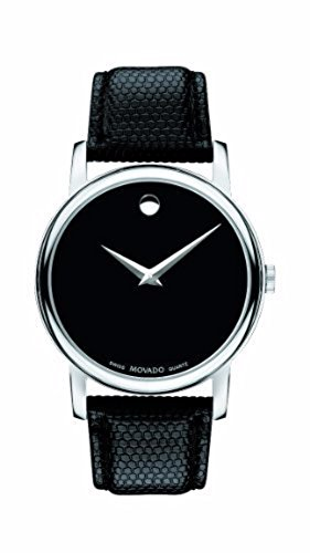 Movado Museum Leather Strap Watch – Para hombre o mujer