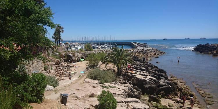 Playas cerca de Lisboa: Praia de Santa Marta