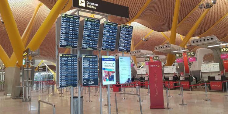 Servicios del aeropuerto de Madrid
