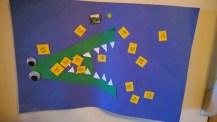 A was an alligator