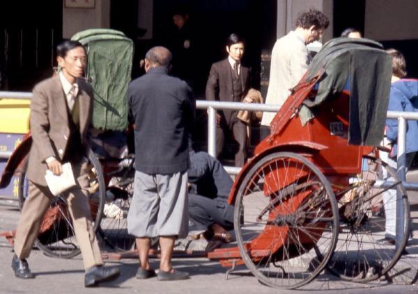 В тени Триад и кунгфу Гонконг на фото 1975 года