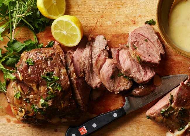 Easy Roast Lamb Rack