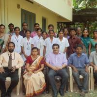 Medical Camp at Old age home , Kollam