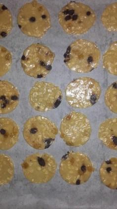 cookiese en plaque