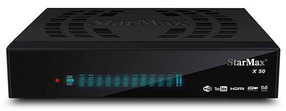 StarMax X50 Full HD Receiver Software