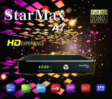 StarMax A7 HD Receiver Software