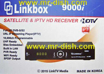 Linkbox 9000i FTA Satellite and IPTV Receiver Software