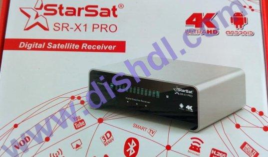 Starsat  SR-X1 PRO Latest  Software