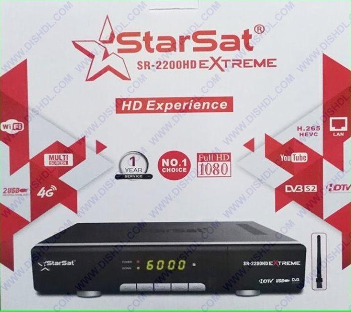 STARSAT SR-2200HD EXTREME NEW SOFTWARE UPDATE