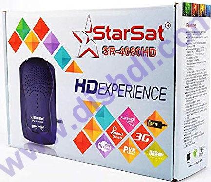 Starsat SR-4080HD New Firmware Update