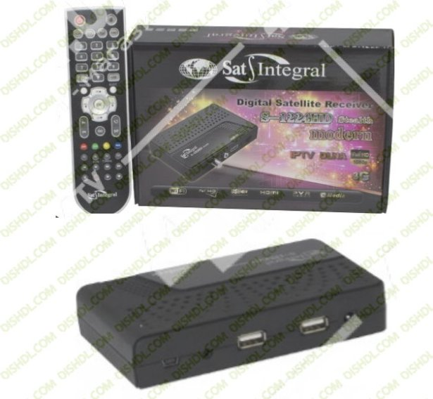 SAT-INTEGRAL S-1224HD STEALTH MODERN RECEIVER SOFTWARE NEW UPDATE