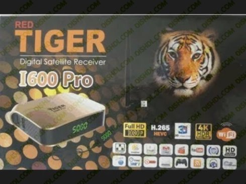 TIGER I600 PRO Receiver Software New Update