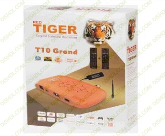RED TIGER T10 GRAND Receiver Software New Update