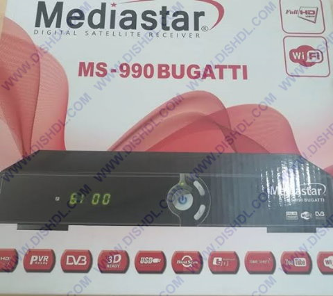 MEDIASTAR MS-990 BUGATTI SOFTWARE UPDATE