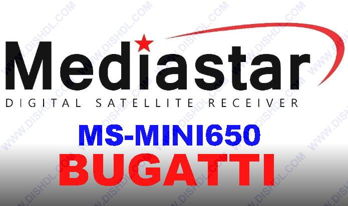 MEDIASTAR MS-MINI650 BUGATTI SOFTWARE