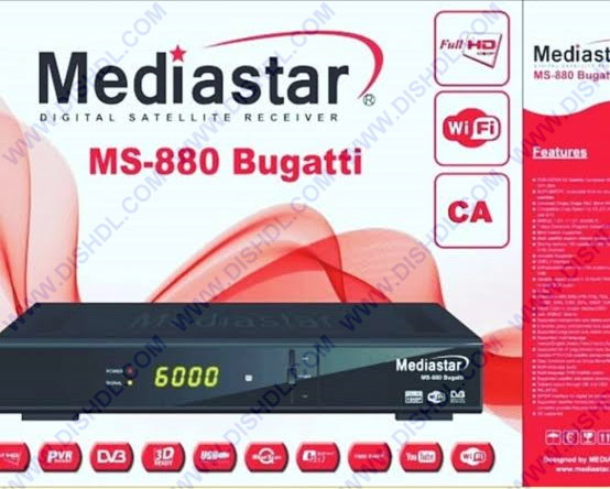 MEDIASTAR MS-880 BUGATTI SOFTWARE