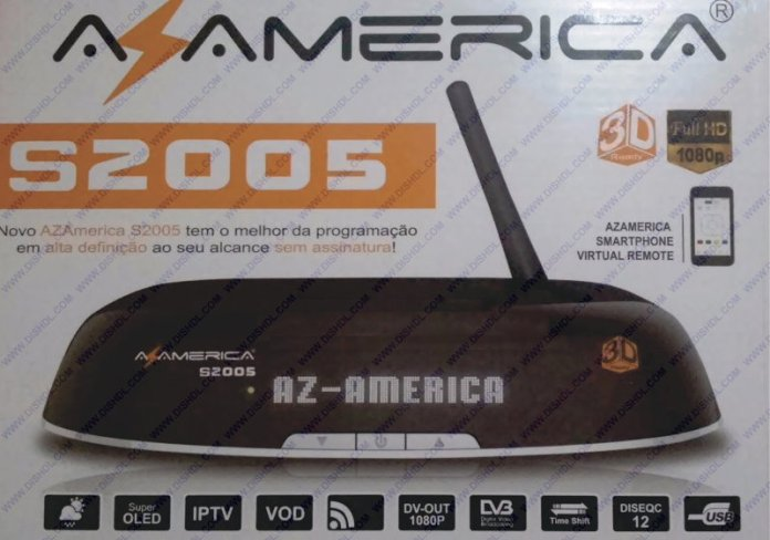 AZAMERICA S2005 SOFTWARE