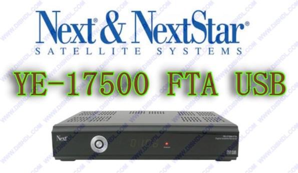 NEXT YE-17500 FTA USB NEW SOFTWARE UPDATE