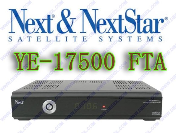 NEXT YE-17500 FTA NEW SOFTWARE UPDATE
