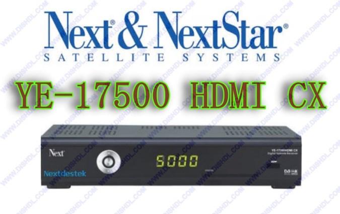 NEXT YE-17500 HDMI CX NEW SOFTWARE UPDATE