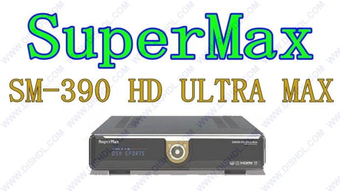 SUPERMAX SM-390 HD ULTRA MAX SOFTWARE