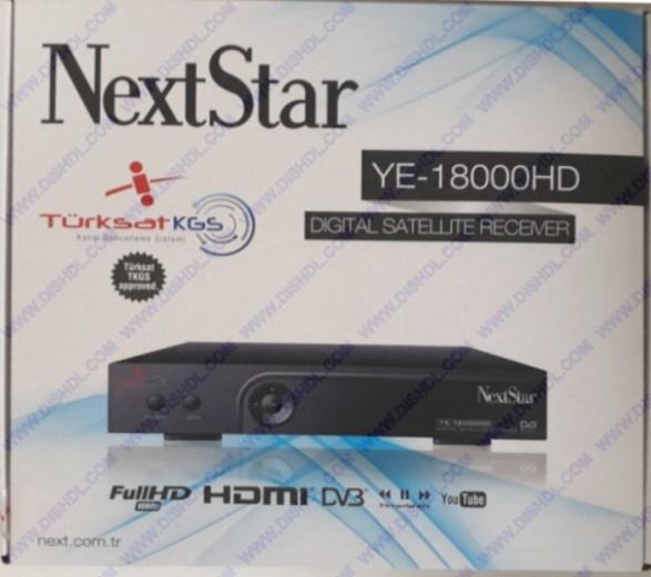 NEXT YE-18000 HD SOFTWARE UPDATE