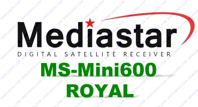 MEDIASTAR MS-MINI600 ROYAL SOFTWARE