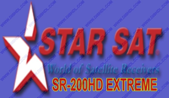 STARSAT SR-200HD EXTREME NEW SOFTWARE UPDATE