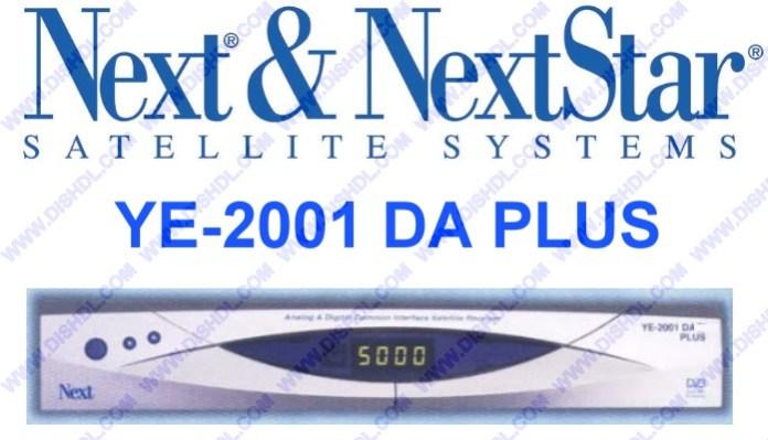 NEXT YE-2001 DA PLUS SOFTWARE UPDATE