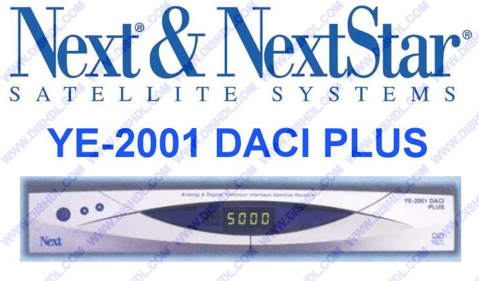 NEXT YE-2001 DACI PLUS SOFTWARE UPDATE