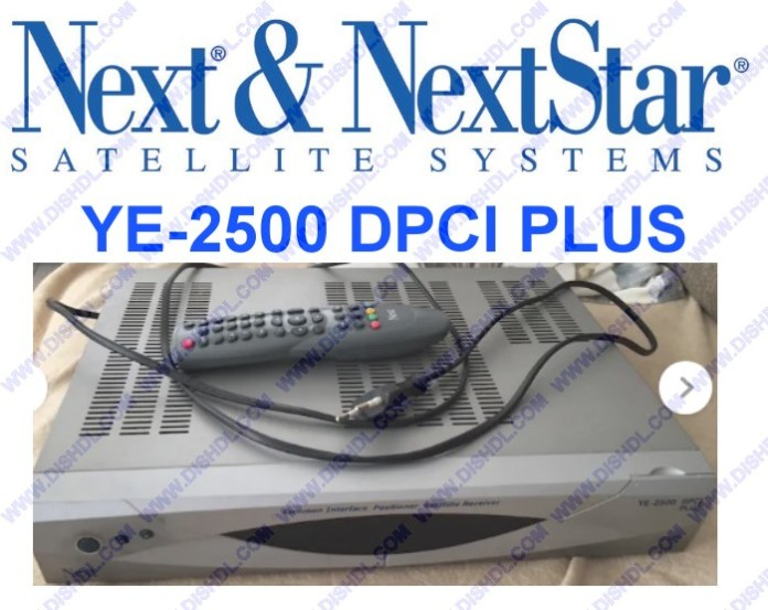 NEXT YE-2500 DPCI PLUS SOFTWARE UPDATE