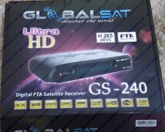 GLOBALSAT GS-240 NEW SOFTWARE UPDATE