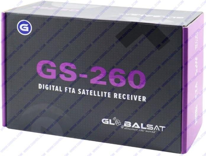 GLOBALSAT GS-260 NEW SOFTWARE UPDATE