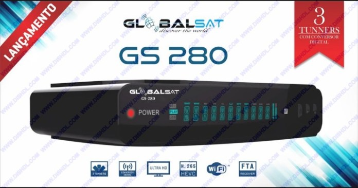 GLOBALSAT GS-280 NEW SOFTWARE UPDATE
