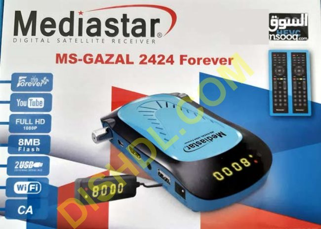 MEDIASTAR MS-GAZAL 2424 FOREVER SOFTWARE