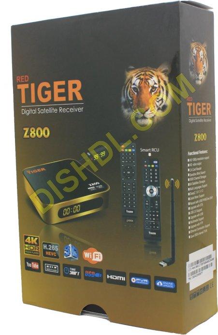 TIGER Z800 RECEIVER SOFTWARE UPDATE
