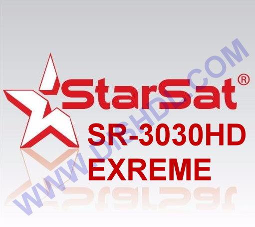 STARSAT SR-3030HD EXTREME SOFTWARE UPDATE