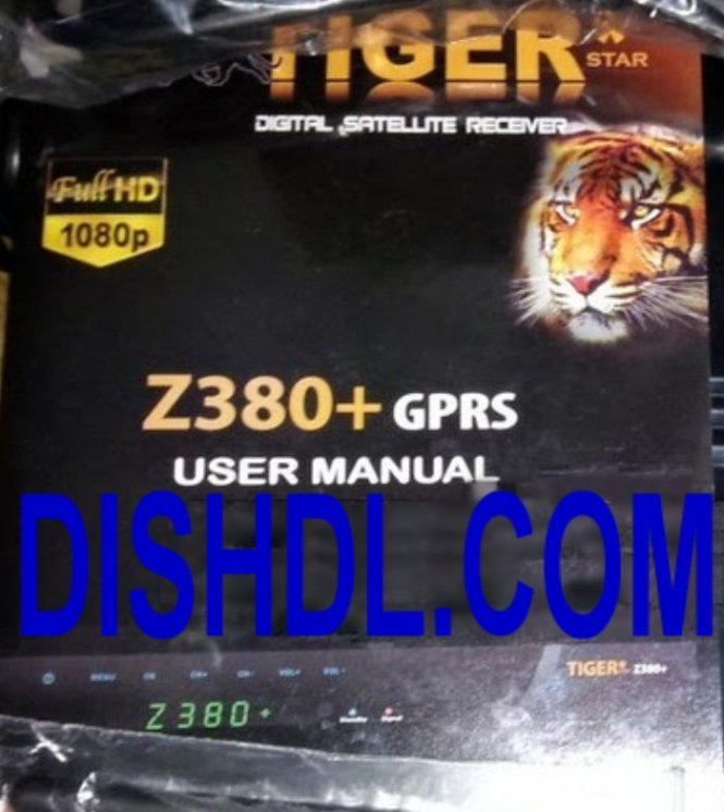 TIGER Z380 PLUS SOFTWARE UPDATE