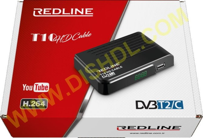 REDLINE T10 HD CABLE SOFTWARE UPDATE