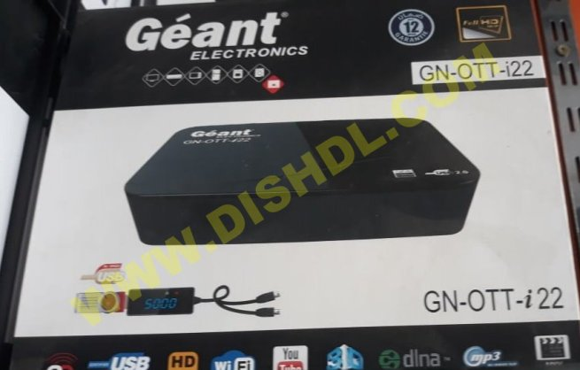 GEANT GN-OTT I22 SOFTWARE UPDATE