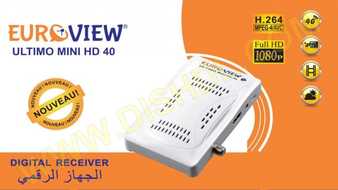 EUROVIEW ULTIMO MINI HD 40 SOFTWARE UPDATE