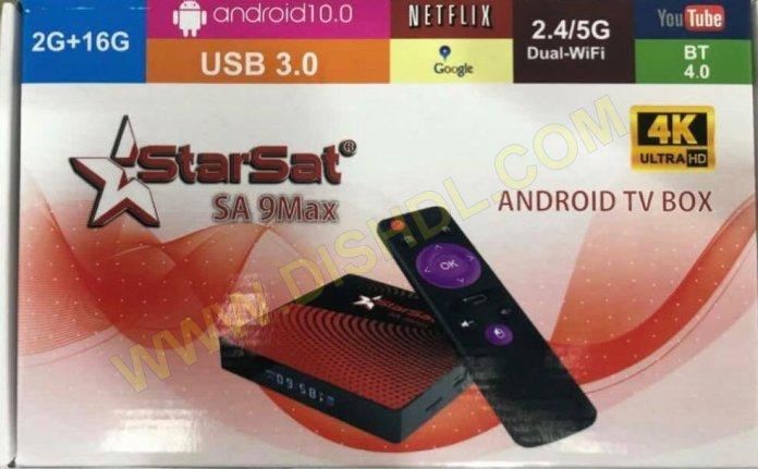 STARSAT SA-9MAX ANDROID TV BOX