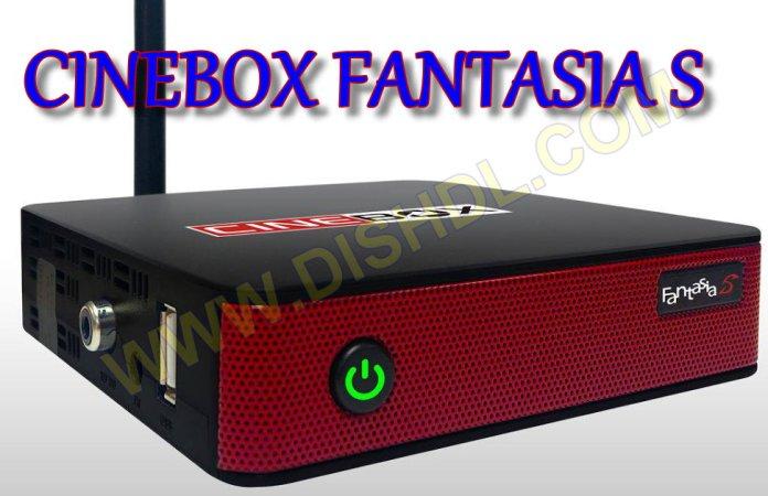 CINEBOX FANTASIA S NEW SOFTWARE UPDATE