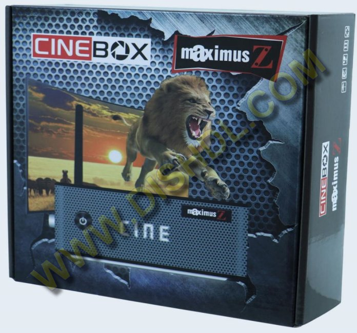 CINEBOX MAXIMUS Z NEW SOFTWARE UPDATE