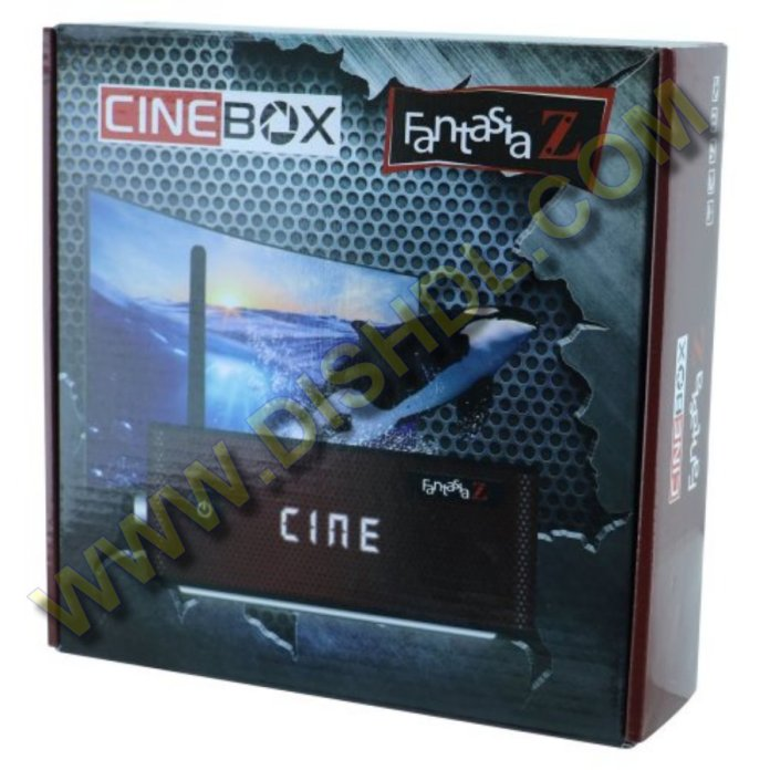 CINEBOX FANTASIA Z NEW SOFTWARE UPDATE