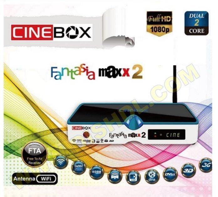 CINEBOX FANTASIA MAXX X2 NEW SOFTWARE UPDATE