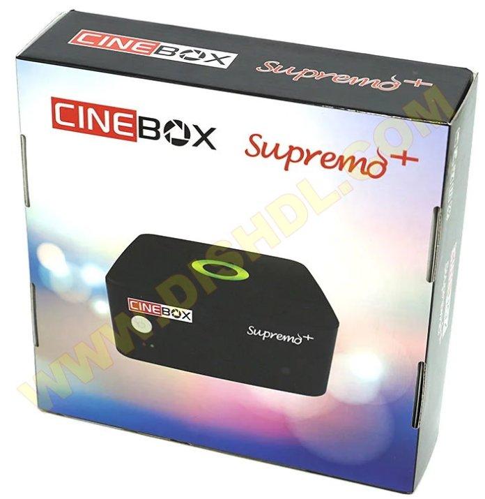 CINEBOX SUPREMO PLUS NEW SOFTWARE UPDATE