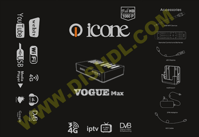 ICONE VOGUE MAX NEW SOFTWARE UPDATE