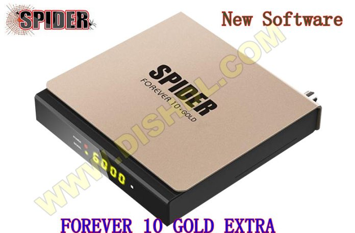 SPIDER FOREVER 10 GOLD EXTRA NEW SOFTWARE