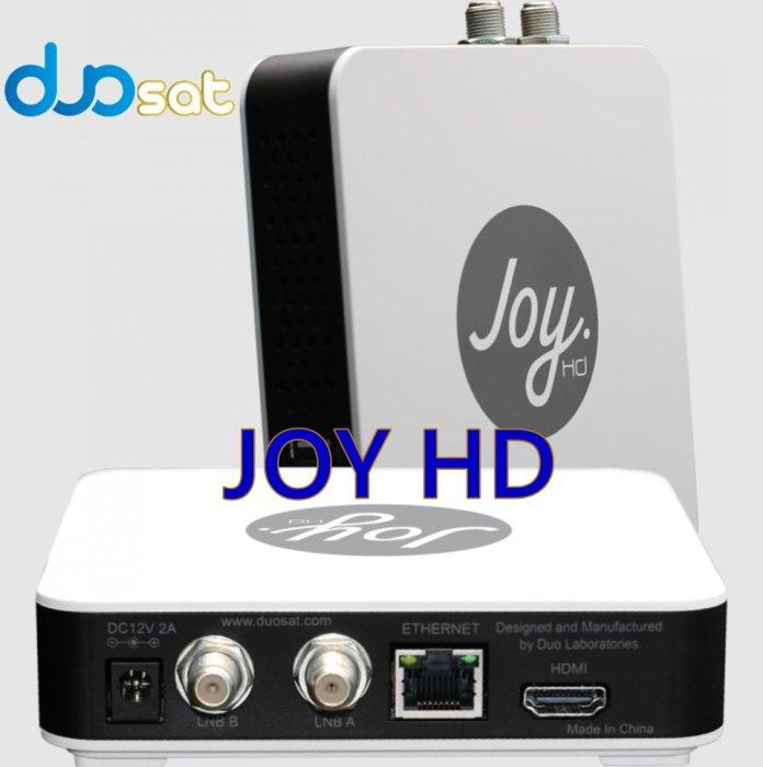 DUOSAT JOY HD NEW SOFTWARE UPDATE